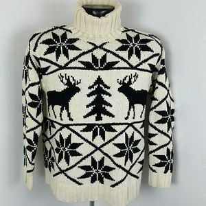 Ralph Lauren sweater exclusive hand knit size S